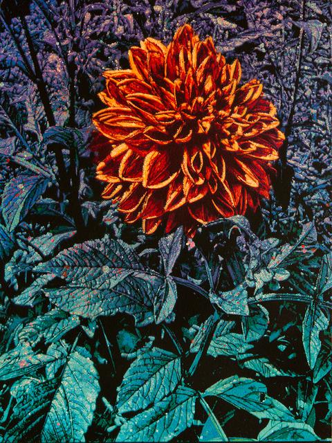 Logan Hicks, 'Monet Flower Close-up - Flower 5', 2019, Taglialatella Galleries