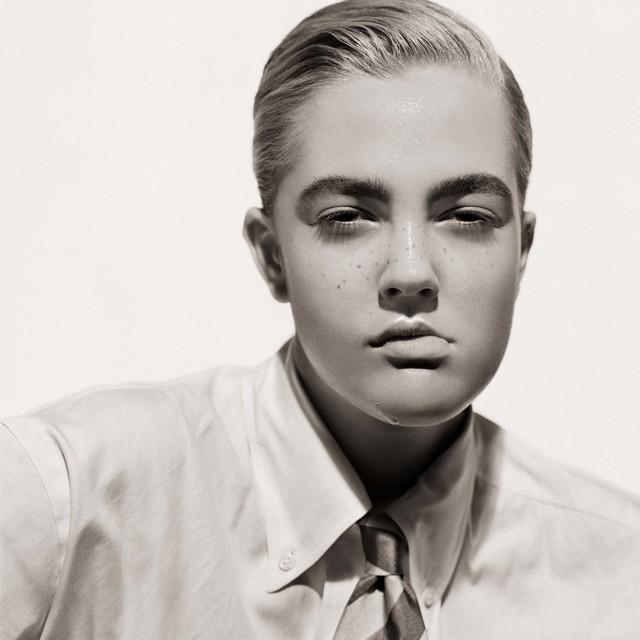 , 'Drew Barrymore, Portrait as a Boy, Los Angeles,' 1991, Fahey/Klein Gallery