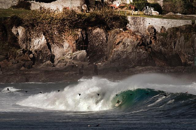 , 'Aritz Aranburu surfing in Mundaka, Spain.,' , Anastasia Photo