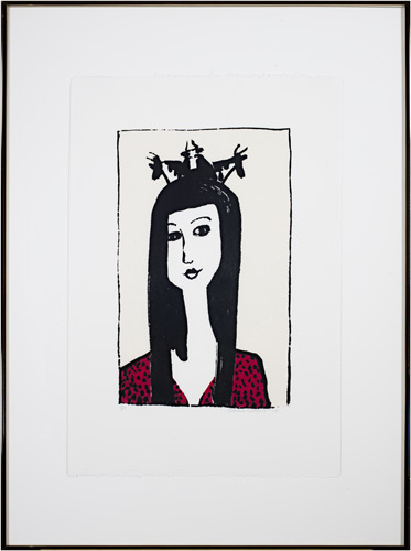 Schomer Lichtner, 'Cow Crown', 1949, David Barnett Gallery