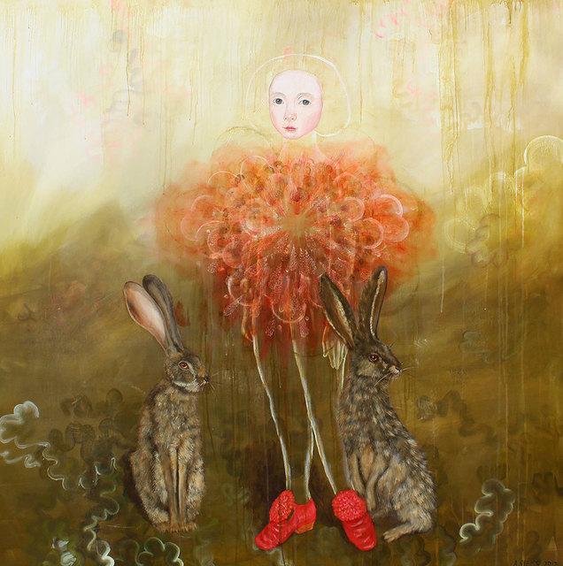 , 'Orange Cloud ,' 2017, David Lusk Gallery