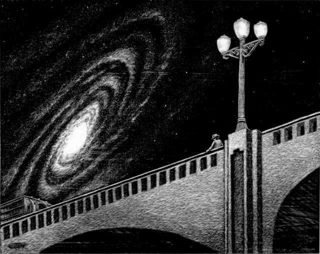 , 'Galaxy Bridge,' 2015, Robert Berman Gallery