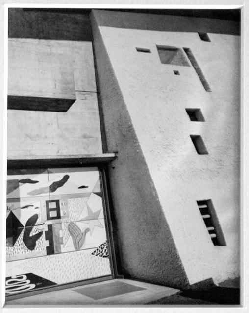 , 'Chapelle de Ronchamp,' 1953, La Forest Divonne