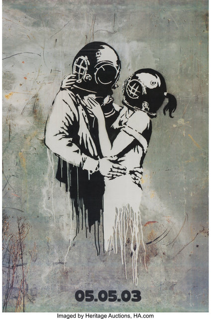"""After Banksy, 'Blur """"Think Tank"""" Promotional Poster (Parlophone, 2003)', Heritage Auctions"""