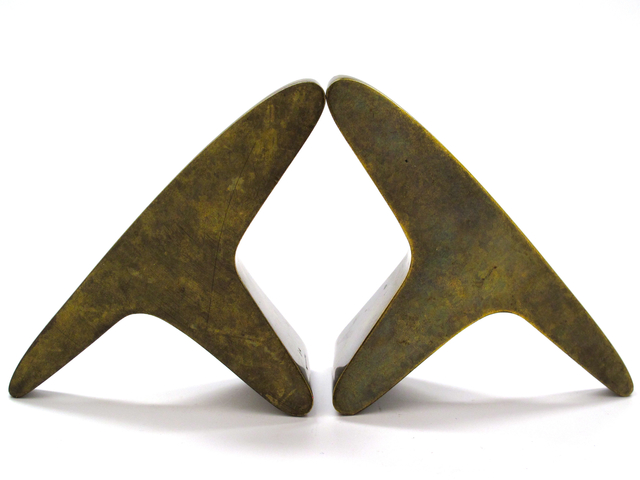 , 'Patinated Brass Bookends,' ca. 1950s, Patrick Parrish Gallery