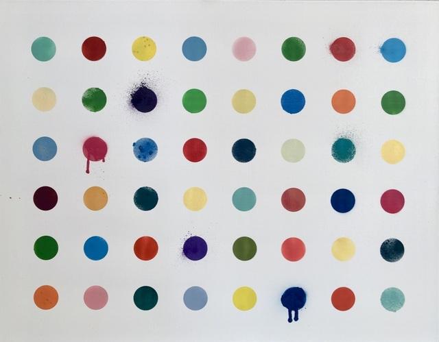 Beejoir, 'Imodium 48', 2016, Painting, Spray paint and gesso acrylic on canvas, Kalkman Gallery
