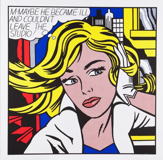 """Roy Lichtenstein, '""""M-Maybe"""", 1965', Veritas"""