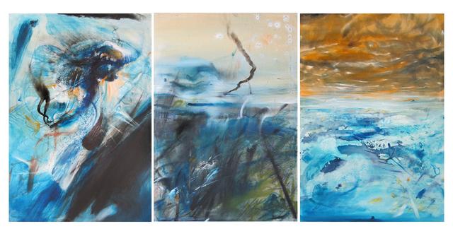 , 'When Oxygen Was Poison (triptych),' 2014, JCamejo Art