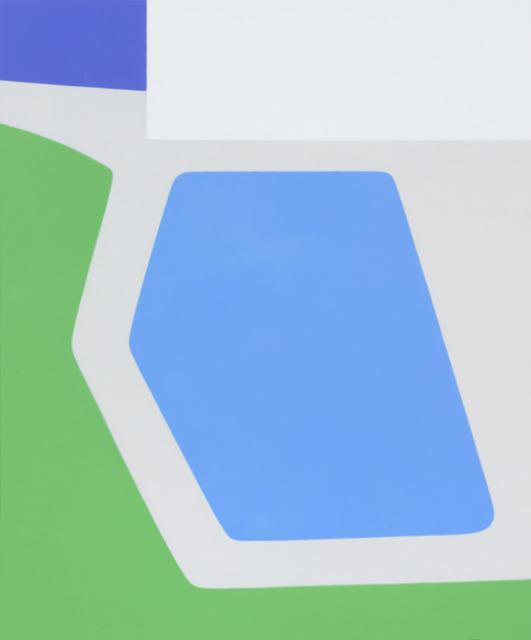 , 'Angled Pool,' 2013, Andréhn-Schiptjenko