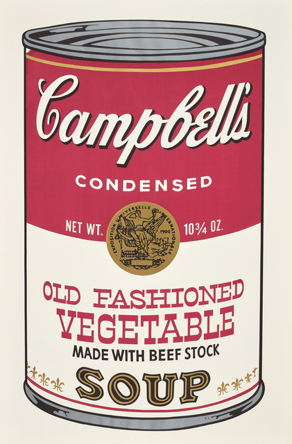Andy Warhol, 'Old Fashioned Vegetable, from Campbell's Soup II', 1969, Phillips