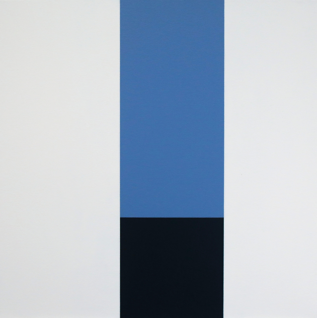, 'Blue In A Box,' 2012, Barry Whistler Gallery
