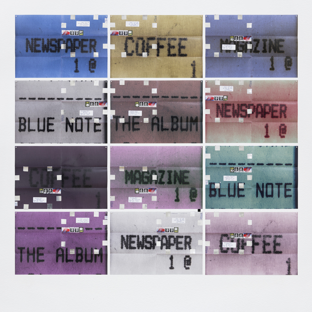 , 'Newspaper, Coffee (Receipts) II,' 2015-2016, McEvoy Foundation for the Arts