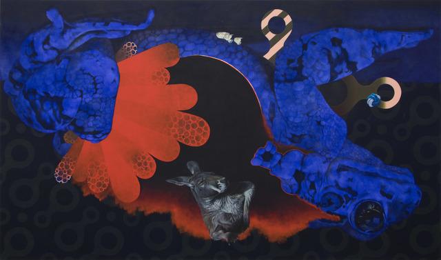 , 'Der rote Heinrich (Zielabweichungsverfahren),' 2014, Gudberg Nerger