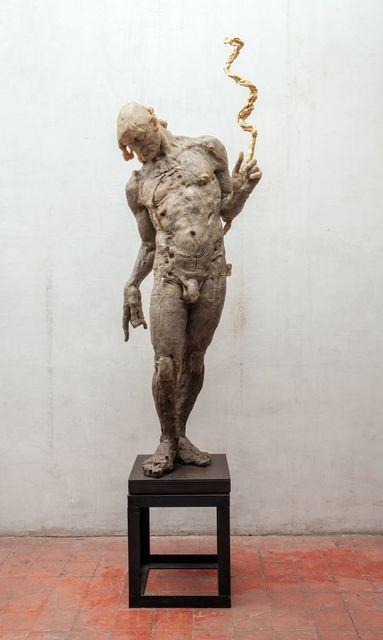, 'Hombre de pie,' 2006, Terreno Baldío