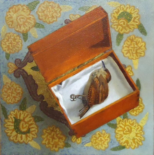 , 'Bird in Box,' 2017, Cerulean Arts