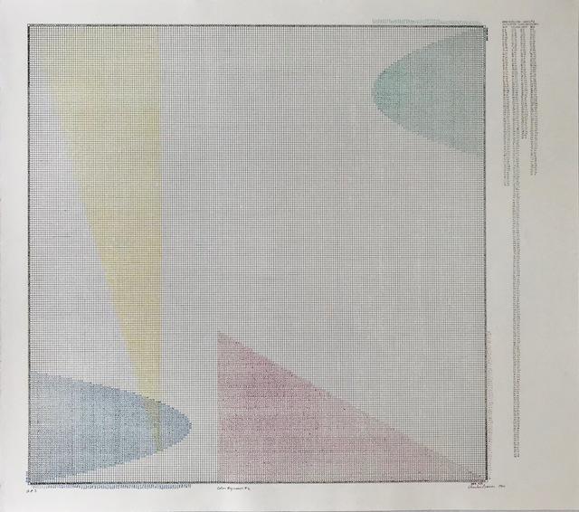 , 'COLOR REGRESSION # 2  ,' 1980, Brigitte March International Contemporary Art