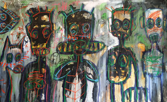 Aboudia, 'Untitled ', 2015, Jack Bell Gallery