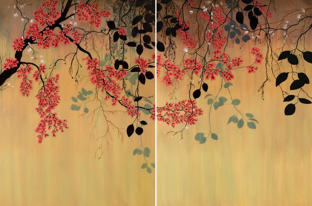 , 'Light Falls (Diptych),' 2017, Patricia Rovzar Gallery