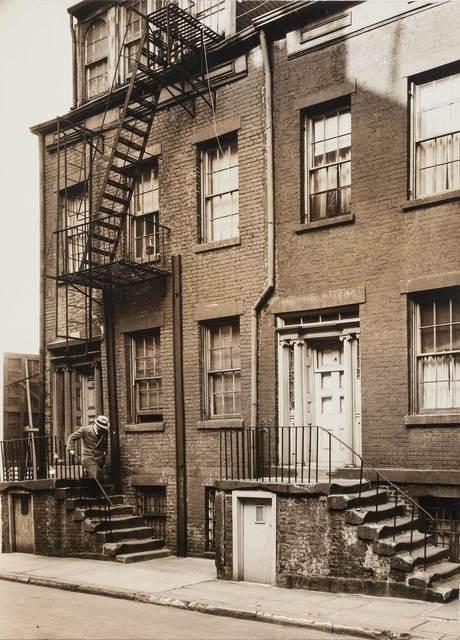 Berenice Abbott, 'Minetta Street, #2, 4, 6', 1935, Doyle