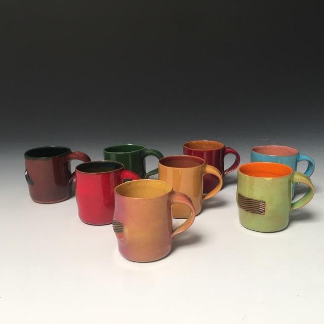 Ken Price, 'Mezcal Cups (from Happy's Curios Series) (Set of 8)', 1975, Harvey Preston Gallery