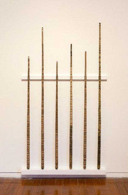 , 'Literature Review (pool cues from Year of the Pig Sty),' 2009, Roslyn Oxley9 Gallery