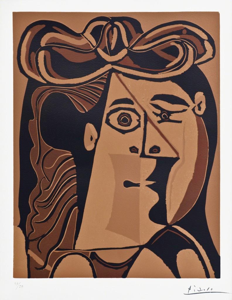 Pablo Picasso   Femme au Chapeau (1962)   Available for Sale   Artsy