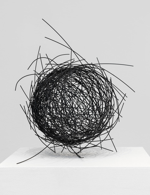 , 'Graphite Nest,' 2018, De Buck Gallery