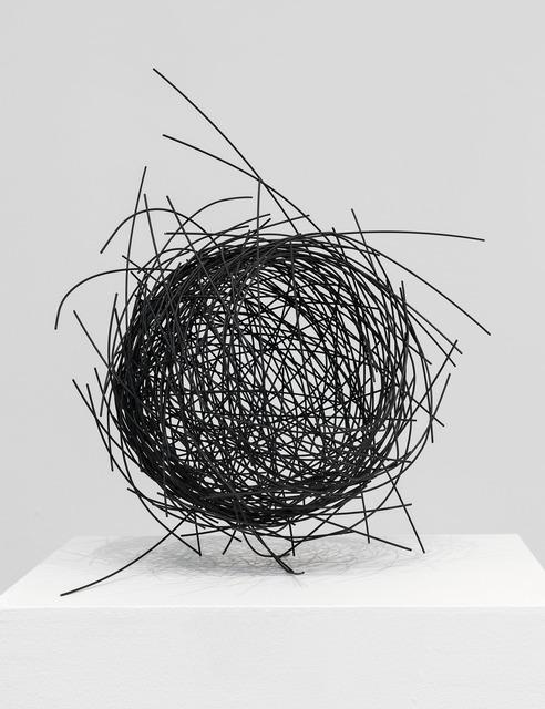 , 'Graphite Nest,' 2018, De Buck Gallery