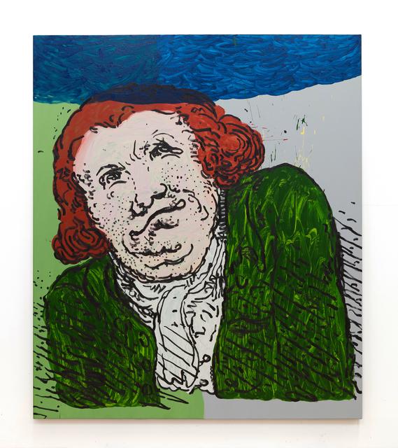 , 'Man, Thinking,' 2017, UNION Gallery
