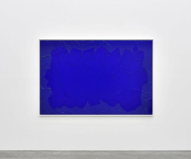 , 'Bleu de Cobalt foncé,' 2017, Almine Rech