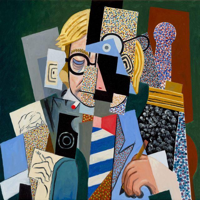 , 'Anachronistic Portrait (David/Picasso),' 2016, Galerie de Bellefeuille