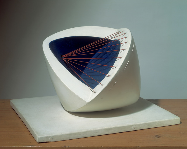 , 'Sculpture with Colour (Deep Blue and Red) (6)