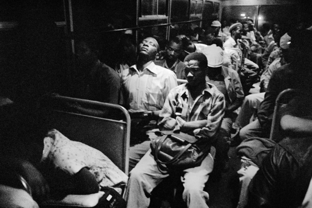 , '8:45 p.m. Going home: Marabastad-Waterval bus: 8:45 p.m., 45 minutes to the terminal.,' 1984, Goodman Gallery