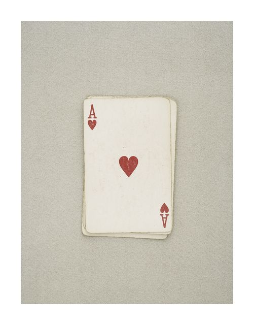 , 'The Golden Ratio (Ace of Hearts),' 2019, Cob