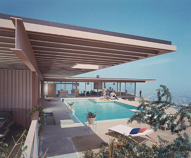 Julius Shulman, 'Case Study House #22 (pool), Los Angeles California', 1960, Yancey Richardson Gallery