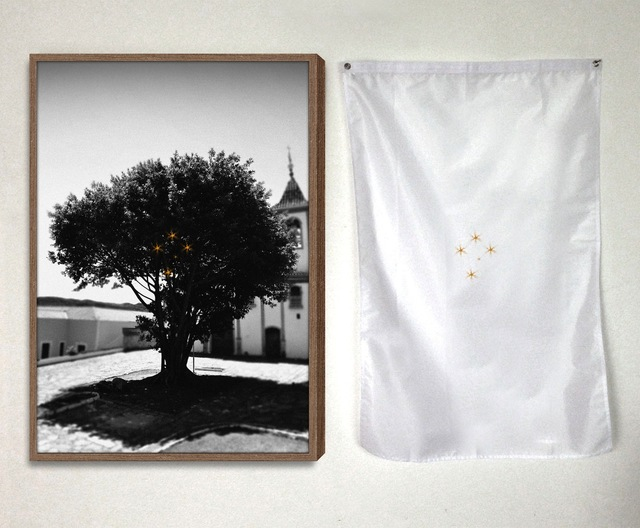 , 'Estudo para Cruzeiro [study for cruise],' 2016, Casa Triângulo