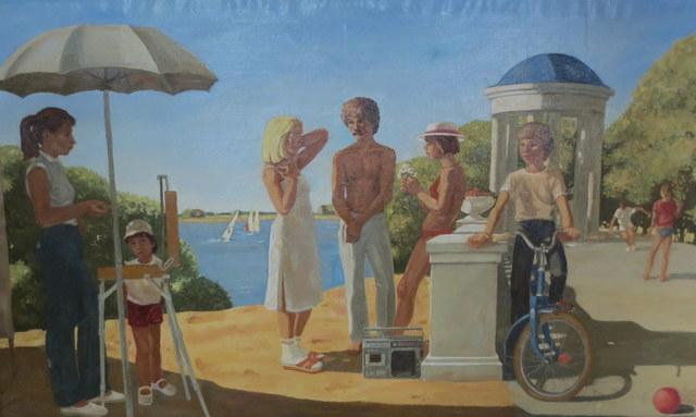 Yury Popkov, 'Resting Youth', 1987, OYANU Gallery