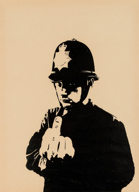 Banksy, 'Rude Copper', 2002, Forum Auctions