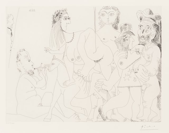 Pablo Picasso, 'Degas imaginant, from La Séries 156', 1971, Heritage Auctions