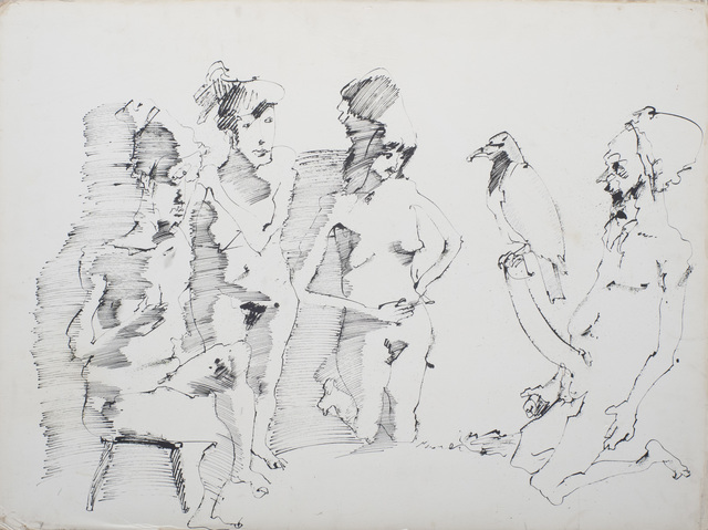 John Altoon, 'Untitled', 1968, Iris Project