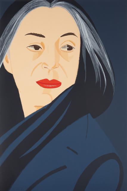 Alex Katz, 'Black Scarf', 1996, Phillips