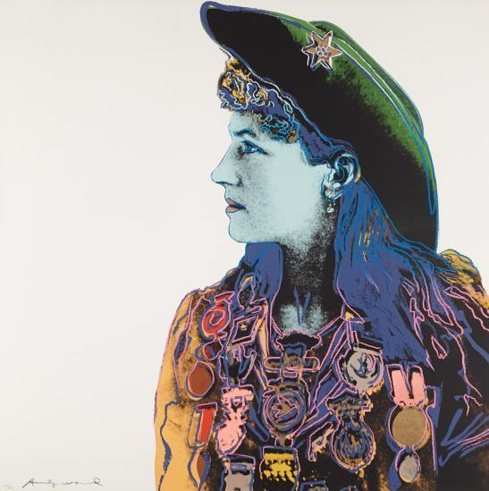 Andy Warhol, 'Annie Oakley, from Cowboys and Indians', 1986, Upsilon Gallery