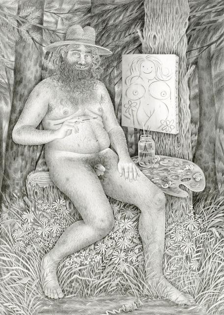 , 'Mountain Man Painter,' 2016, Asya Geisberg Gallery