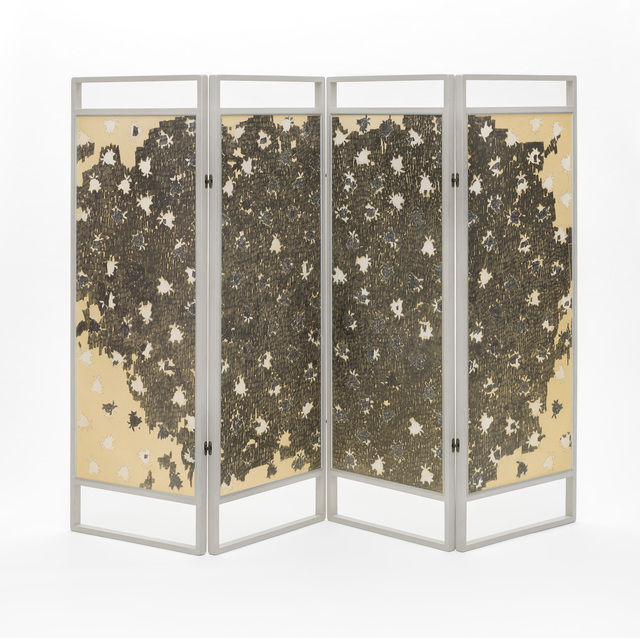 , 'Rose Screen,' 1963, Los Angeles County Museum of Art