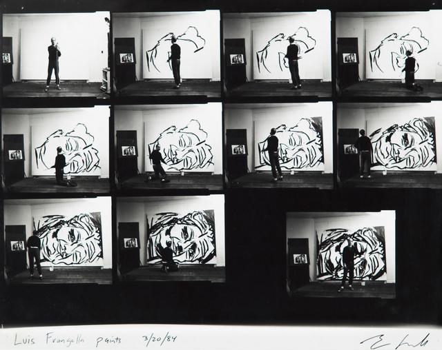 , 'Luis Frangella paints. 3/20/1984,' 1984, Cosmocosa
