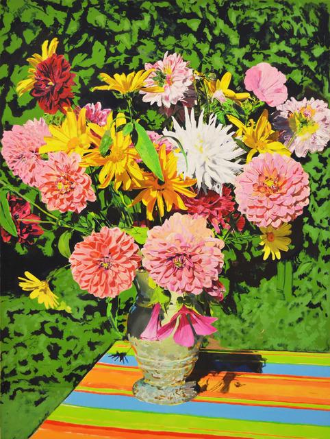 , 'Flowers(C),' 2017, Aki Gallery