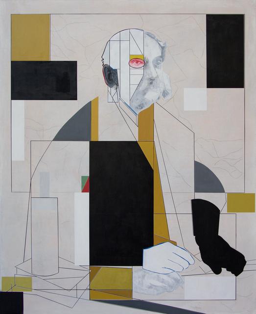 , 'The Cartographer,' 2018, David Lusk Gallery