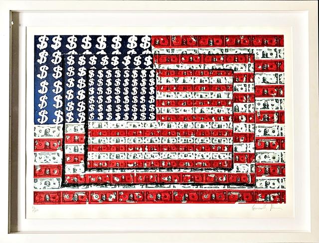 , 'Homenaje to Jasper Johns (Homage to Jasper Johns),' 2003, Alpha 137 Gallery