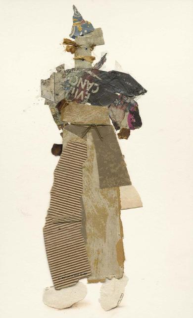 Ben Schonzeit, 'Healdsburg Vagabond, Mix Media Collage Series', 2015, Holden Luntz Gallery
