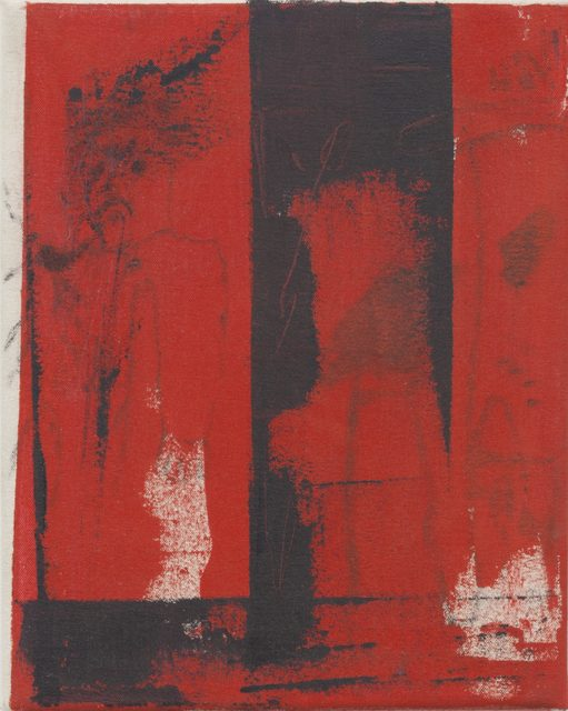 , 'Commuter (Red Wash),' 2015, Serving The People